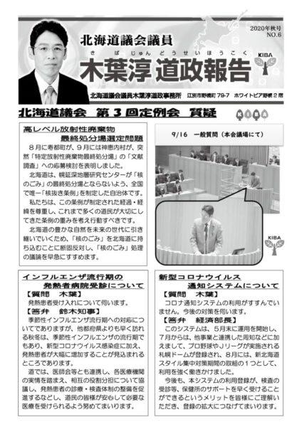 道政報告No,6